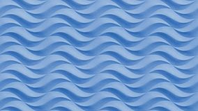 Голубая безшовная волнистая каменная картина предпосылки текстуры Поверхность камня картины текстуры штукатурки гипсолита гипса б Стоковое Изображение