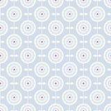 Голубая безшовная картина с абстрактными цветками весны иллюстрация вектора