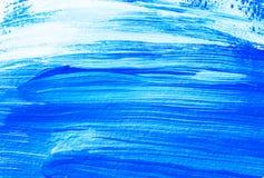Голубая белая акриловая предпосылка стоковые фотографии rf