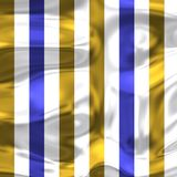 Голубая белизна и золото фасонируют нашивки с яркими тенями 2 Стоковая Фотография RF