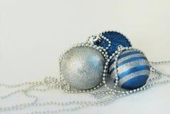 голубая белизна праздника Стоковое Изображение RF
