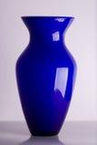 голубая ваза Стоковые Фотографии RF