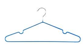 Голубая вешалка   Стоковое Изображение