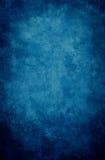 голубая виньетка grunge Стоковые Изображения