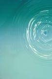 Голубая вода круга Стоковое Изображение