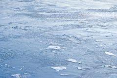голубая вода льда Стоковое Изображение RF