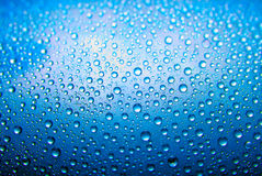 голубая вода падений Стоковые Фотографии RF