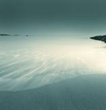 голубая вода песка подачи Стоковые Фото
