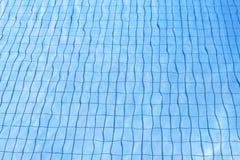 голубая вода текстуры бассеина Стоковое Изображение RF