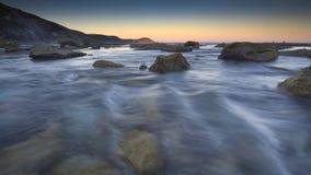 голубая вода стоковые фотографии rf