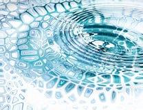 голубая вода иллюстрация штока