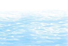 голубая вода Стоковое фото RF