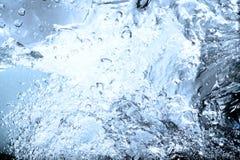 голубая вода Стоковая Фотография