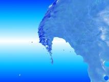 голубая волна Стоковая Фотография RF