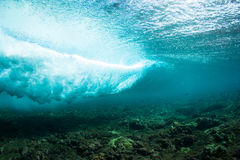 Голубая волна Стоковые Фото