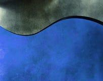 голубая волна Стоковое Изображение