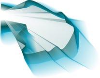 голубая волна Стоковая Фотография