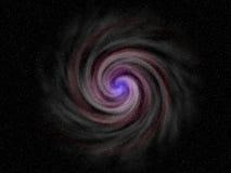 голубая галактика Стоковая Фотография