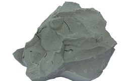 Голубая глина от кембрийской эстонии Стоковая Фотография