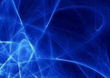 голубая глубокая тема Стоковая Фотография RF