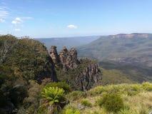 Голубая гора стоковое фото rf