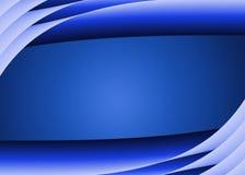 голубая граница иллюстрация вектора