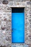 голубая дверь Стоковое Изображение RF
