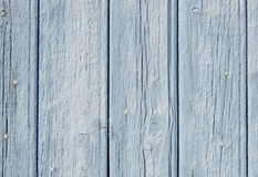Голубая деревянная стена Стоковая Фотография RF