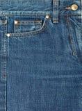 голубая джинсовая ткань Стоковые Фотографии RF