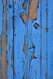 голубая древесина текстуры старая древесина текстуры Стоковые Изображения RF