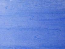 голубая древесина текстуры Стоковые Фотографии RF