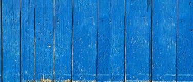 голубая древесина текстуры Стоковое Изображение