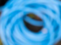 Голубая закрутка в конспекте круга стоковое изображение rf