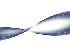 голубая закрутка Стоковое Изображение RF