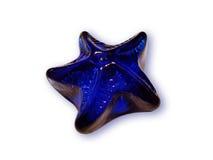 голубая звезда Стоковое Фото