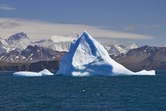 голубая земля айсберга Стоковая Фотография RF