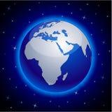 Голубая земля - Африка. иллюстрация штока