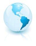 голубая земля Стоковая Фотография