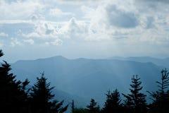 голубая зига гор Стоковая Фотография RF
