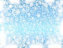 голубая зима Стоковые Изображения