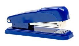 голубая изолированная белизна прокладки сшивателя Стоковая Фотография