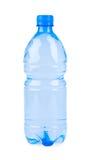 голубая изолированная бутылка Стоковая Фотография