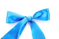 Голубая изолированная тесемка тканья Стоковые Изображения