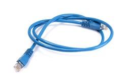 голубая кабельная сеть Стоковые Фотографии RF