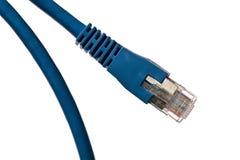 голубая кабельная сеть Стоковые Изображения RF