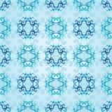 голубая картина безшовная Стоковые Фото