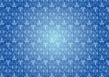 голубая картина безшовная бесплатная иллюстрация