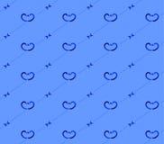 голубая картина безшовная Стоковая Фотография RF