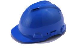 голубая каска стоковое изображение