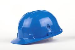 голубая каска стоковая фотография rf